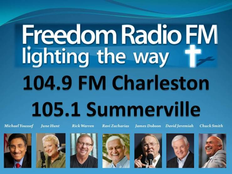 Freedom Radio FM 104.9 FM Charleston 105.1 FM Summerville 03